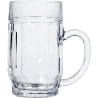 Sklenice na pivo Džbán cejch 300 ml třetinka Donau s uchem Stulzle-oberglas
