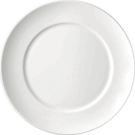 Talíř mělký 300 mm, kulatý, porcelán, model Universo, ESCHENBACH
