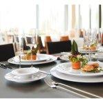 Talíř mělký 180 mm Savoy, bílý, elegantní, luxusní, Seltmann