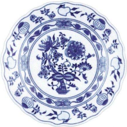 Talíř hluboký 24 cm Cibulový vzor Cibulák Original Bohemia
