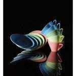 Talíř hluboký 22 cm Daisy Lilien azurová